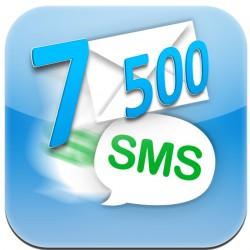 7 500 lik SMS Paketi (7500 SMS)