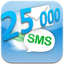 25 000 lik SMS Paketi (25000 SMS)