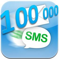 100 000 lik SMS Paketi (100000 SMS)