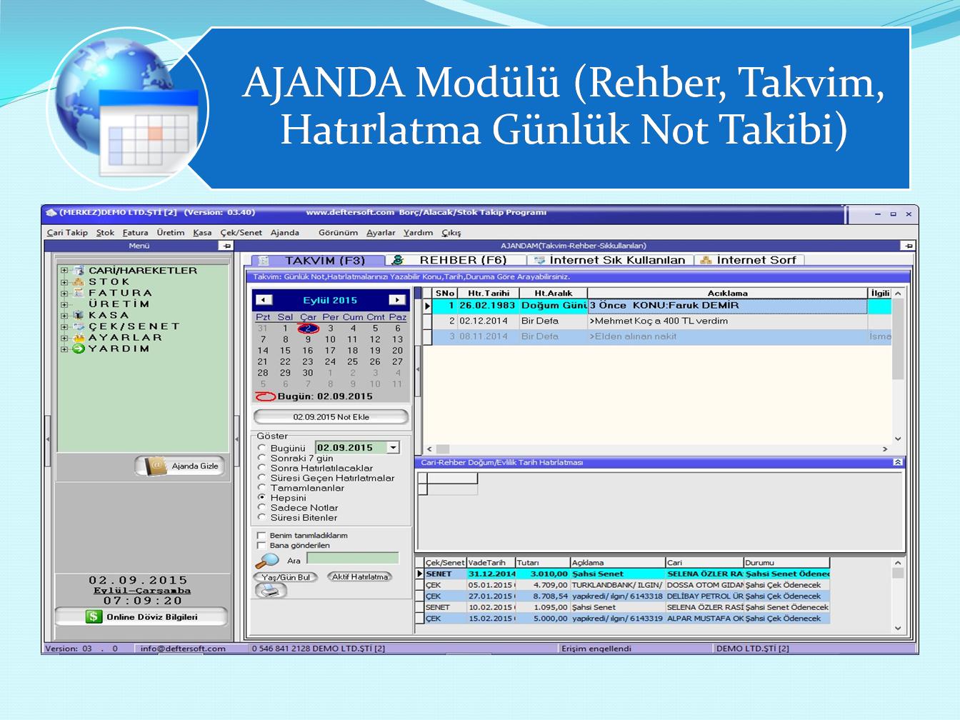 Deftersoft Ticari Program Yazılımı